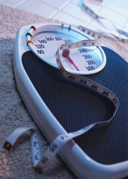 Weight control scale and tape
