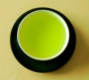 Cup green tea 2