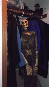 A skeleton in your closet