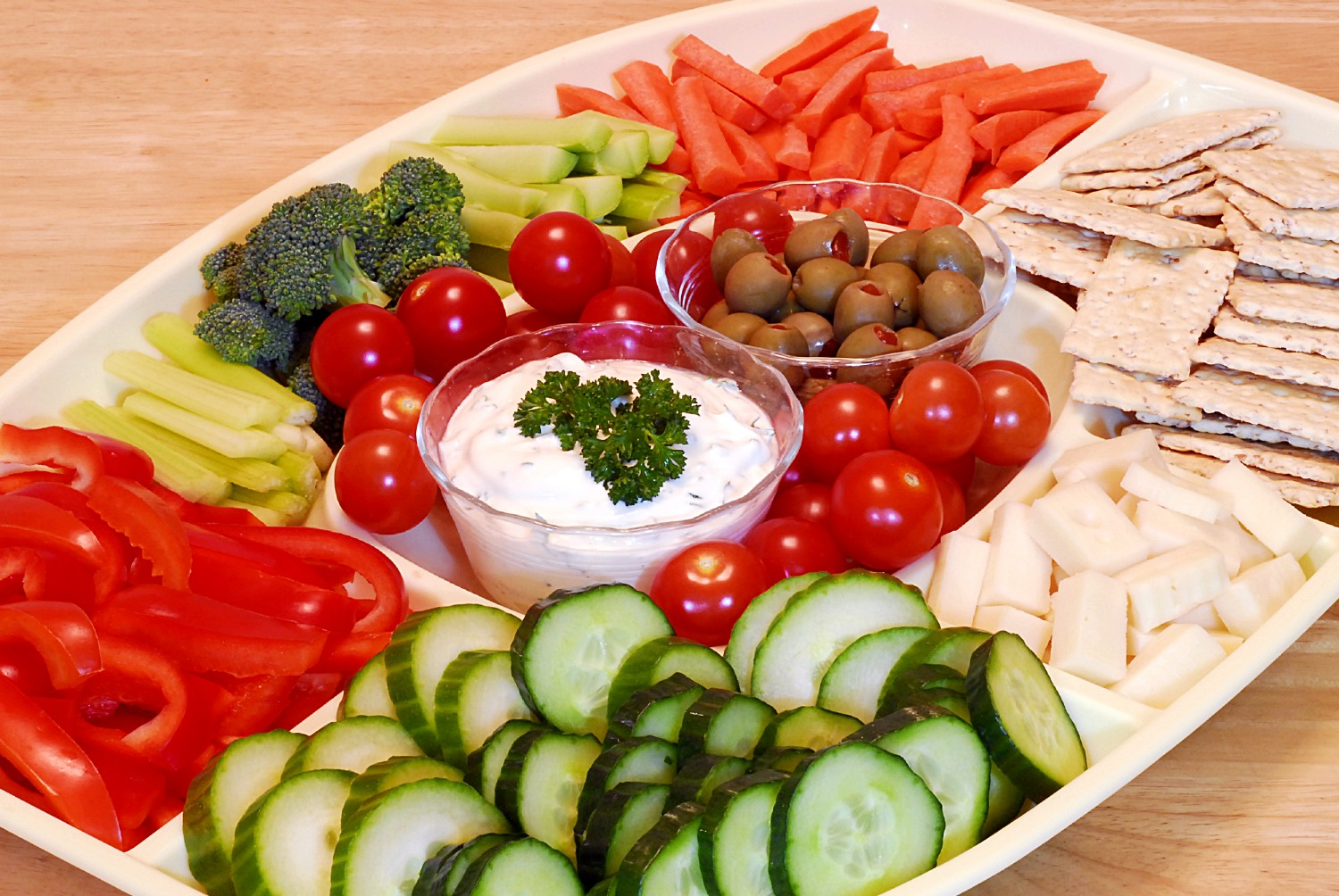 Vegetable Tray-1
